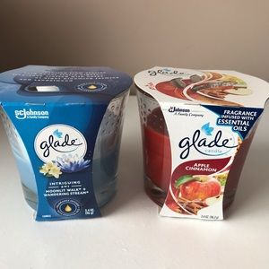 2 Glade Candles $8